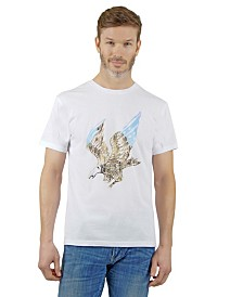 Mountain and Isles Eagle Graphic Tee