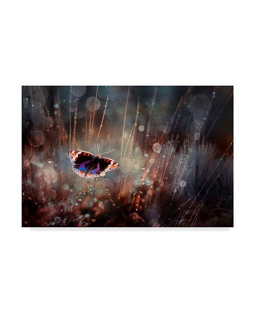"Trademark Global Rooswandy Juniawan 'Traped' Canvas Art - 32"" x 2"" x 22"""