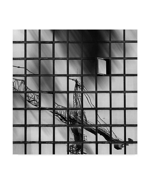 "Trademark Global Milad Safabakhsh 'Urban Reflections' Canvas Art - 18"" x 2"" x 18"""