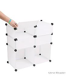 Mind Reader Multi-Purpose Magic Cube with Cover