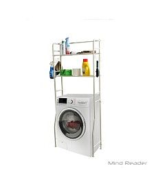 Mind Reader Laundry Utility Washing Machine Shelf