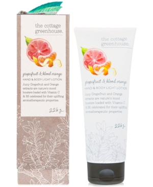 The Cottage Greenhouse Grapefruit & Blood Orange Hand & Body Light Lotion, 8-oz.