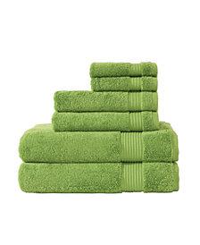 Classic Turkish Towels Amadeus 6 Piece Luxury Turkish Cotton Towel Set