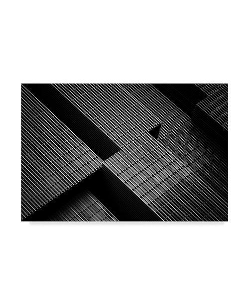 """Trademark Global Jeroen Van De 'The Big Building' Canvas Art - 47"""" x 2"""" x 30"""""""