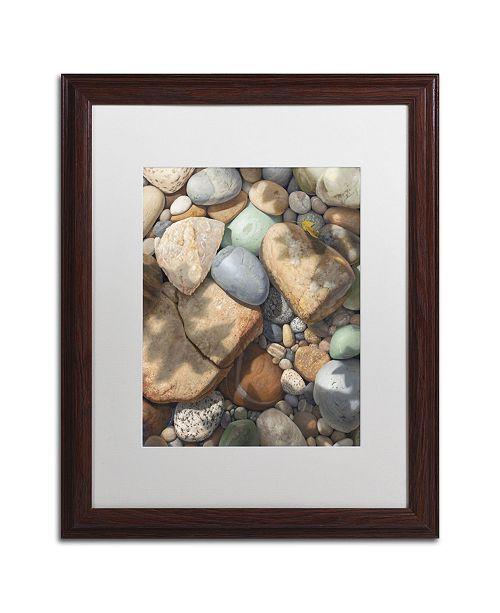"Trademark Global Stephen Stavast 'Above the Shadows Break' Matted Framed Art - 20"" x 16"" x 0.5"""