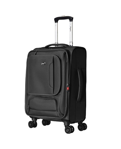 "Olympia USA Petra 21"" Expandable Carry-On Spinner"