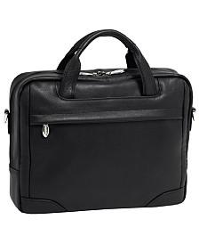 Mcklein Bridgeport Large Laptop Briefcase