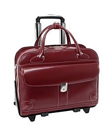 "Lakewood, 15"" Fly-Through Checkpoint-Friendly Ladies Laptop Briefcase"
