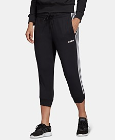 adidas Essentials 3-Stripe Cropped Pants