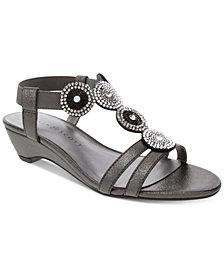 Karen Scott Catrinaa Wedge Sandals, Created for Macy's