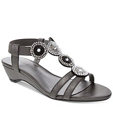 Karen Scott Catrinaa Wedge Sandals, Created for Macy's