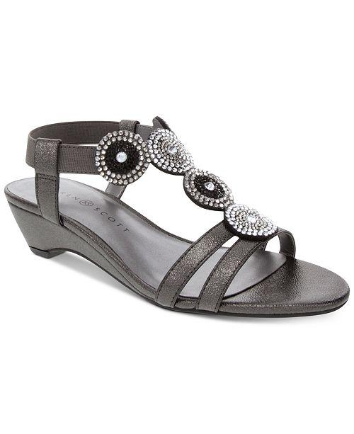b37133b605b6c Catrinaa Wedge Sandals, Created for Macy's
