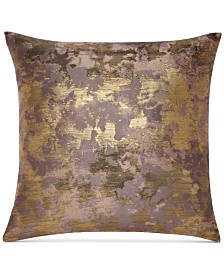 "Sunham Metallic Jacquard 22"" x 22"" Decorative Pillow"