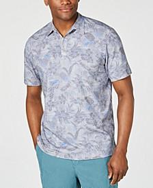 Men's Tiki Luau IslandZone Stretch Floral-Print Polo