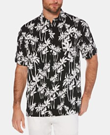 Cubavera Men's Palm Tree Graphic Shirt
