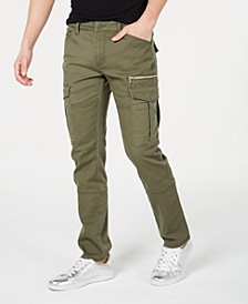 INC Men's Slim-Straight Fit Cargo Pants, Created for Macy's