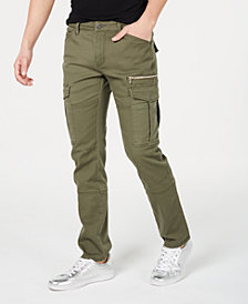 I.N.C. Men's Slim-Straight Fit Cargo Pants, Created for Macy's
