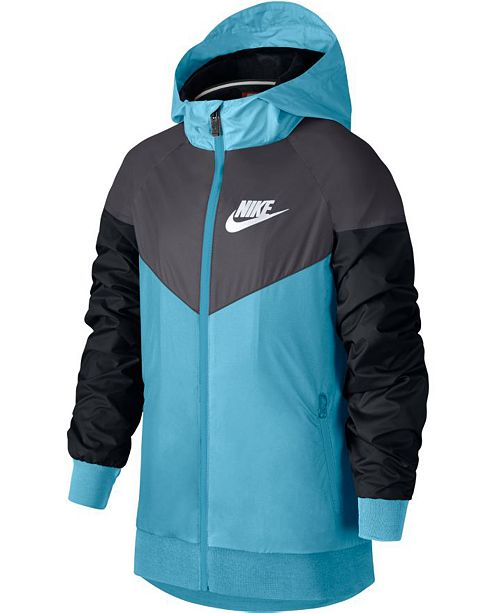 0f84c3963 Nike Big Boys Windrunner Jacket & Reviews - Sweaters - Kids - Macy's