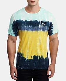 Men's Tie Dye Logo T-Shirt