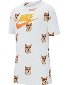 Nike Big Boys Nike Air Dog Logo T-Shirt