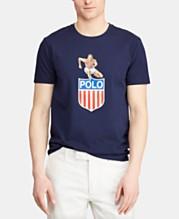 ab31117b2198 Polo Ralph Lauren Men's Custom Fit Graphic Chariots T-Shirt