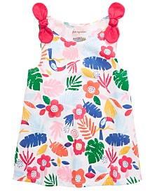 First Impressions Baby Girls Tropical Print Tank Top, Created for Macy's
