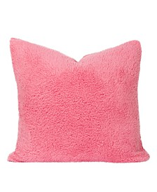 Playful Plush Cotton Candy Designer Throw Pillow