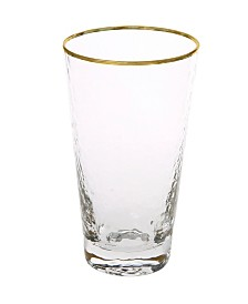 Classic Touch Set of 6 Tumblers with Simple Design