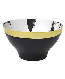 Classic Touch Stainless Steel Bowl