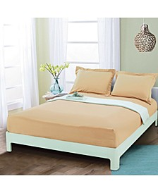 Silky Soft Single Fitted Sheet Full Gold