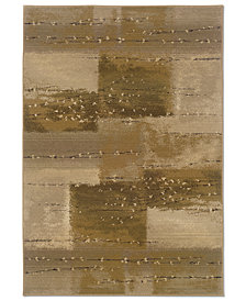 Oriental Weavers Round Area Rug, Genesis 908A Silvan 8'