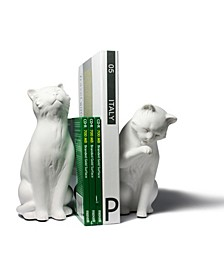 Cat Bookend Set
