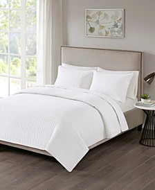 Otto King/California King 3 Piece Coverlet Set