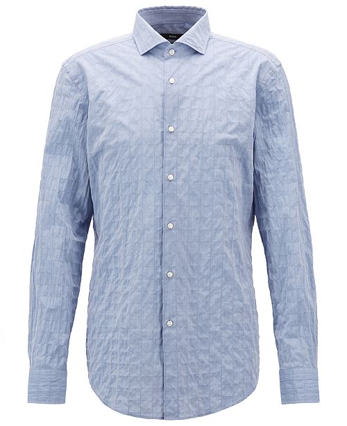 Hugo Boss BOSS Men's Jason Slim-Fit Cotton Shirt