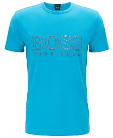BOSS Men's Tee Logo Crew-Neck T-Shirt