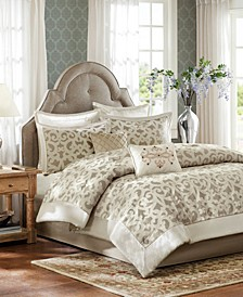 Madison Park Signature Kingsley Queen 8 Piece Comforter Set