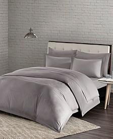 Urban Habitat Comfort Wash Full/Queen 3 Piece Cotton Duvet Cover Mini Set