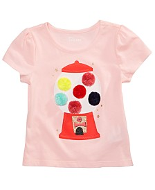 Epic Threads Little Girls Gumball-Print T-Shirt, Created for Macy's