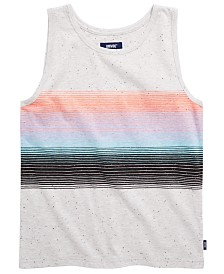 Univibe Big Boys Neo Speckle Stripe Tank