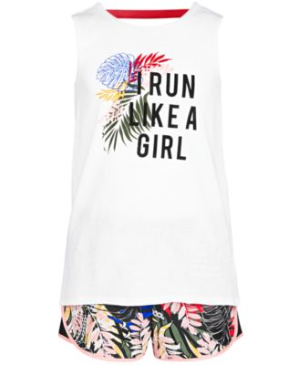 Big Girls Back Strap Tank Top, Created for Macy's