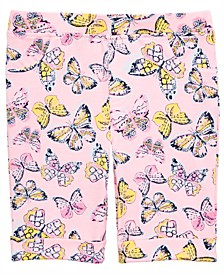 Toddler Girls Butterfly-Print Bermuda Shorts, Created for Macy's