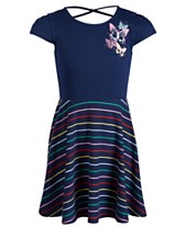 e60021a450e1 Epic Threads Little Girls Striped Butterfly Dress, Created for Macy's