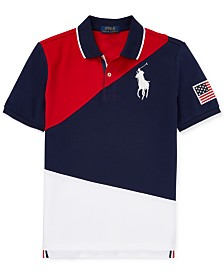 Polo Ralph Lauren Big Boys Colorblocked Cotton Polo