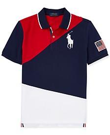Polo Ralph Lauren Big Boys Colorblocked Cotton Polo