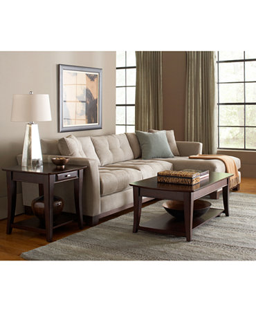 Michelle Fabric Sectional Living Room Furniture Collection Furniture Macy