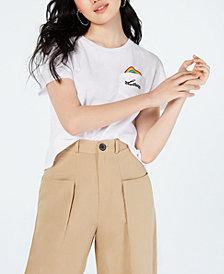 Freeze Juniors' Love Graphic-Print T-Shirt
