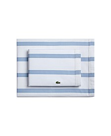 Lacoste   Archive Queen Sheet Set