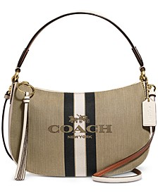 Horse And Carriage Jacquard Sutton Crossbody