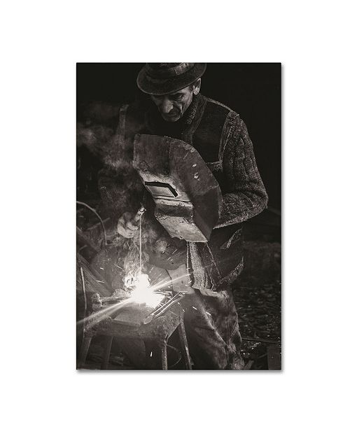 "Trademark Global Vlad Dumitrescu 'Mr Smith' Canvas Art - 47"" x 30"" x 2"""