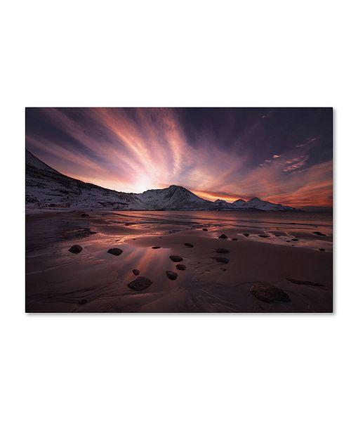 """Trademark Global Jaroslav Zakravsky 'Northern Paradise' Canvas Art - 24"""" x 16"""" x 2"""""""